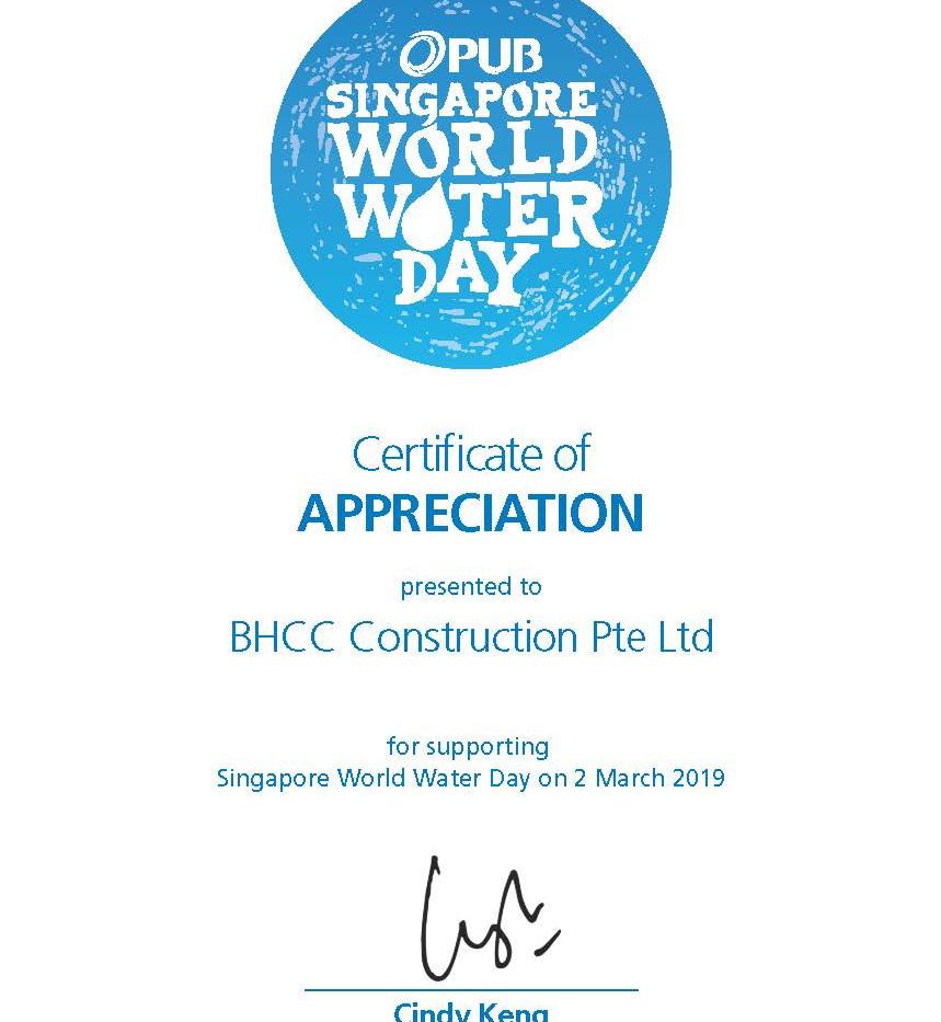 Singapore World Water Day 2019