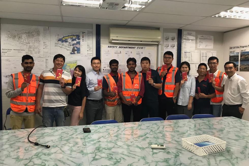 Congrats to Kallang and Data Centre Teams