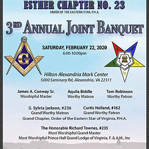 3rd Annual Joint Banquet