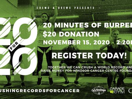 Windsor Cancer Centre Foundation Fundraiser