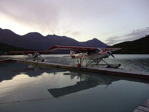 floatplane heaven in alaska