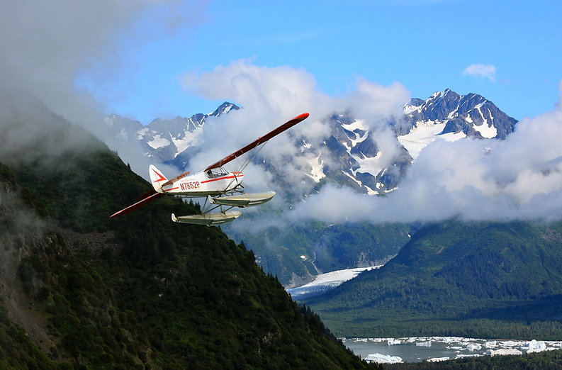 flying into a mountain at alaska float ratings
