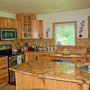 Trail Lake View | Granite Counter Tops