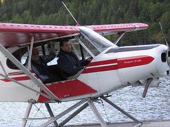 flight Instruction in Airplane