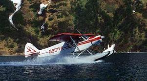 Read the water, Floatplane Flying in Alaska