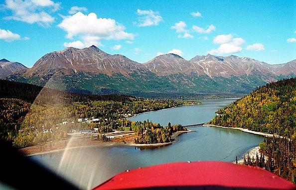 Trail Lake in Moose Pass