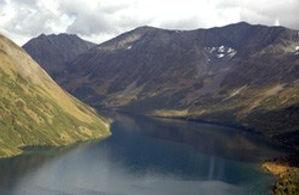 approaching grant lake