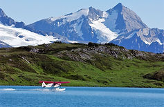 optimal bush flying and seaplane course