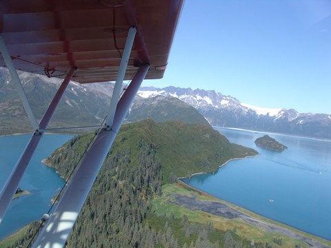 experience real bush flying in moose pass, alaska