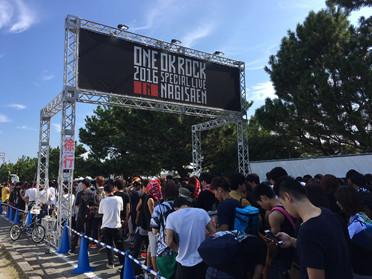 ONE OK ROCK LIVEに出店しました