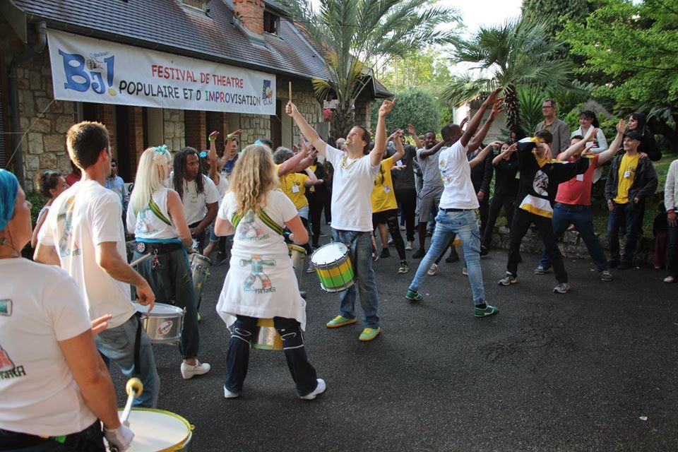 Batucada Pangaea Festival impro 2016