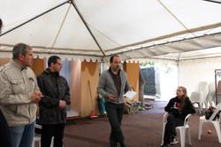 Preparation festival des Paillons Ben Jugat