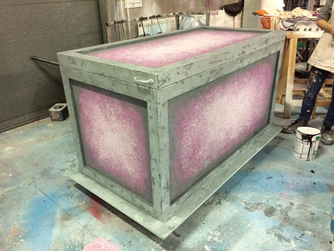 MAGIC TOY BOX PROP