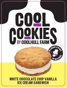 White Choc Chip Cookie & Vanilla Ice-Cream x 24 FPAG48042