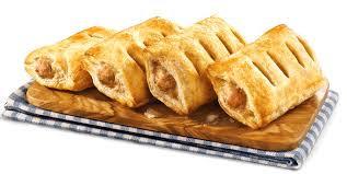 """Golden Bake 4"""" Standard Sausage Roll X 100 FALP4604"""