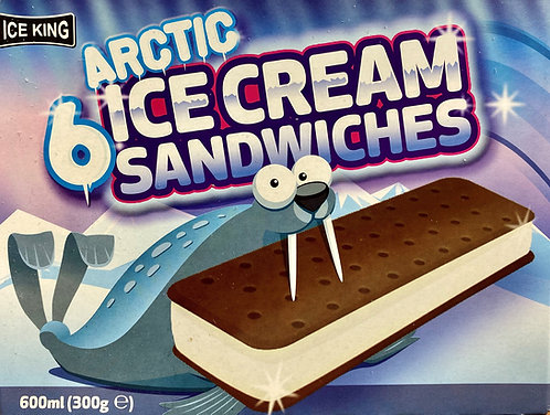 Ice King Ice Cream Sandwich x 6 FBEL4810