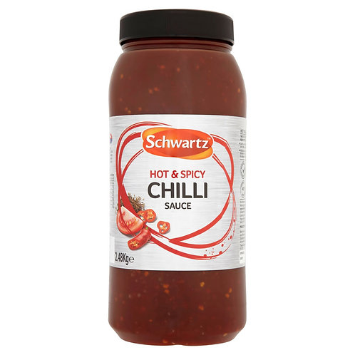 Schwartz Hot Chilli Sauce 2.5kg CEXE4934