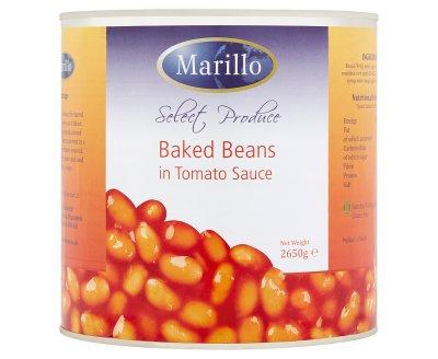 Marillo Baked Beans  6 x 2.7kg AEXE4901