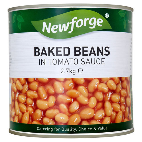Newforge Baked Beans 6x2.7kg AEXE49102