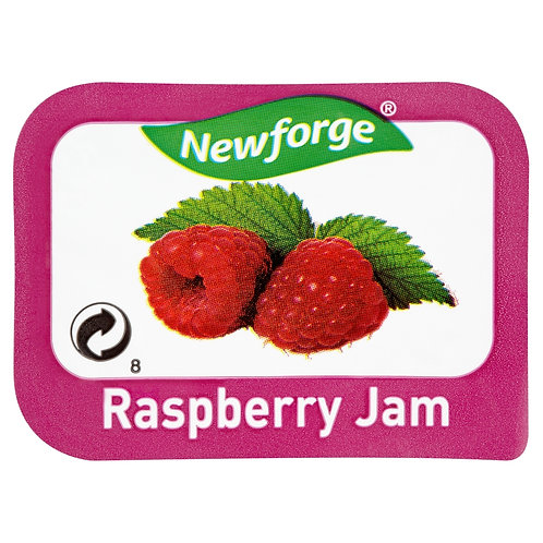 Newforge Raspberry Jam Portions 96x20g AEXE49167