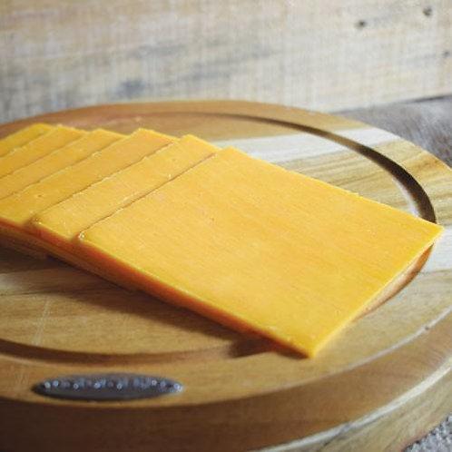 Sliced Mature Red Chedder 1kg CING5000