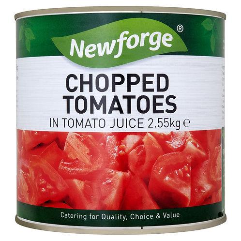 Newforge Chopped Tomato 6x2.55kg AEXE49106