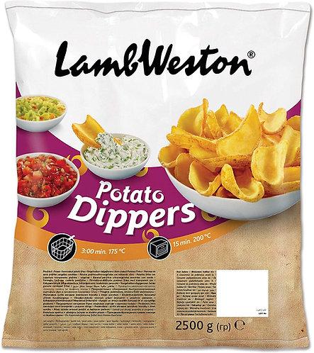 Lamb Weston Potato Dippers 4 x 2.5kg FMEI4364