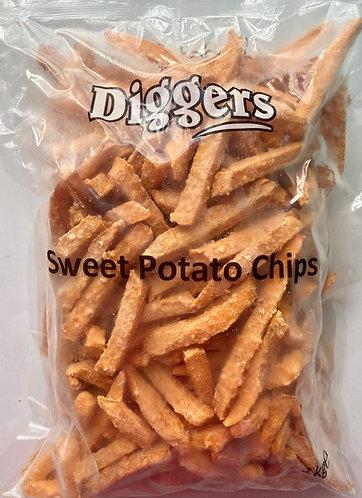 Diggers Sweet Potato Fries 10x1kg FPAN4393