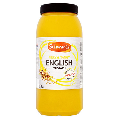 Schwartz English Mustard 2.3kg CEXE4937