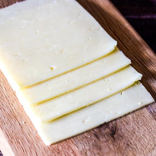 Sliced White Chedder Cheese 1kg CLYN5009