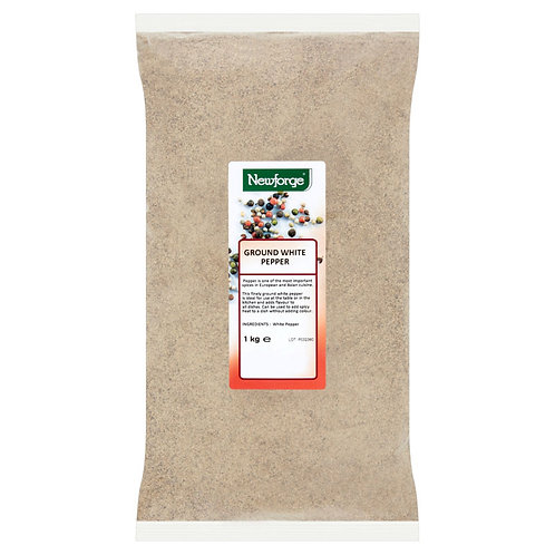 Newforge Ground White Pepper 1kg AEXE5645