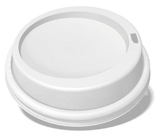 Cup Lids 90mm White x 100 FCAT5222