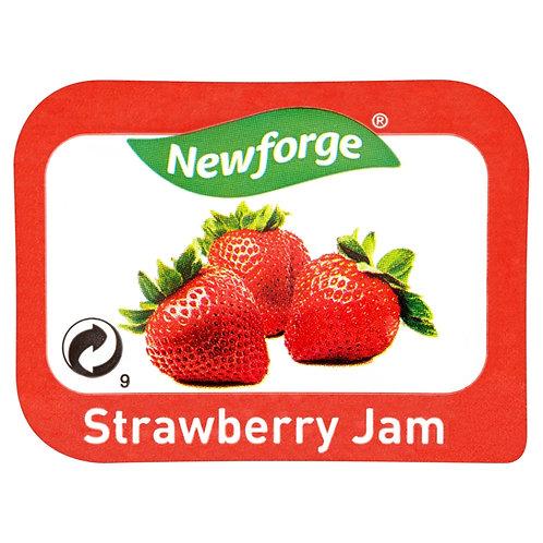 Newforge Strawberry Jam Portions 96x20g AEXE49166