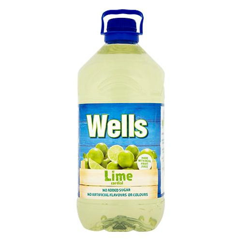 Lime Cordial 3x5ltr ALYN5526