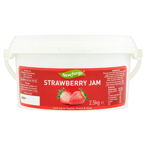 Newforge Strawberry Jam 2.5kg AEXE4986