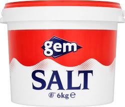 Gem Salt 6kg ABAR5652