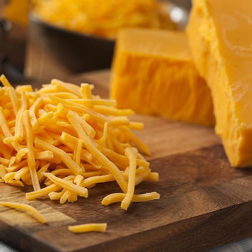 Bandon Vale Grated Red Chedder 2kg CBAN5050