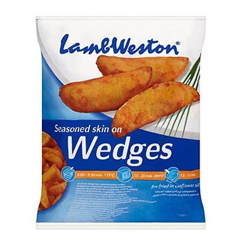 Lamb Weston Seasoned Potato Wedges 4x2.5kg FMEI4319