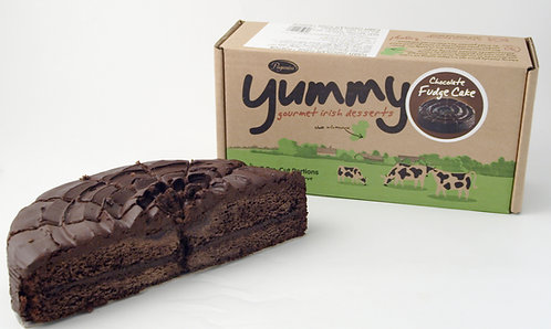 Coolhull Farm Yummy Chocolate Fudge Cake 7 Ptn FPAG48027