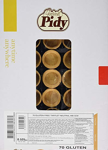 Pidy Neutral Gluten Free Tartlet 5cm x 70