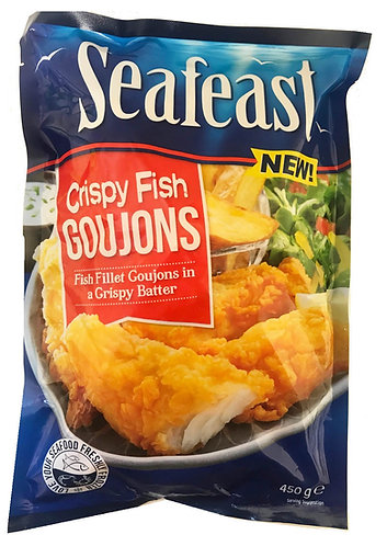 Seafeast Crispy Fish Goujons 450g x 10 FPAN4514