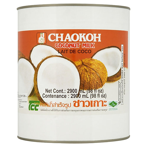 Chakoh Coconut Milk 6 x 2900ml AEXE4904