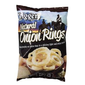 Diggers Onion Rings 6x1kg FPAN4446