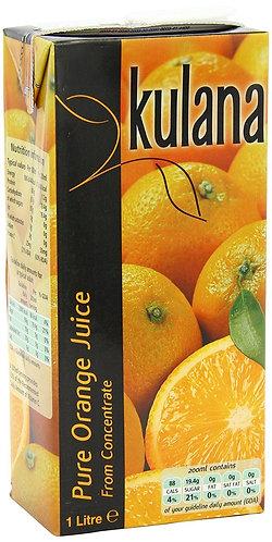 Kulana Orange Juice 12x1ltr CMUL5019
