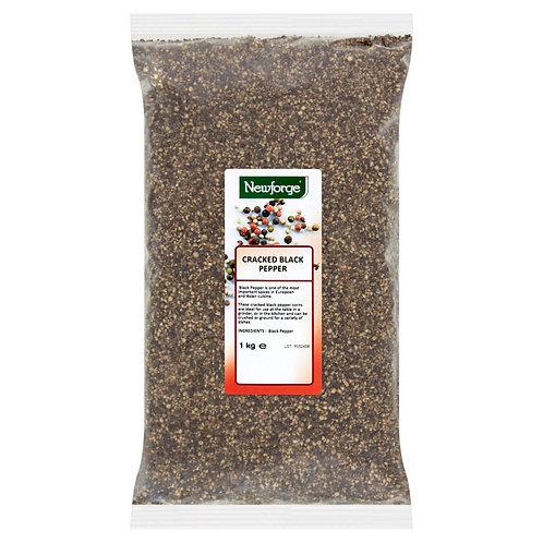 Newforge Cracked Black Pepper 1kg AEXE5646