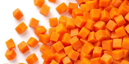 Diced Carrots Frozen 10kg FARD4405