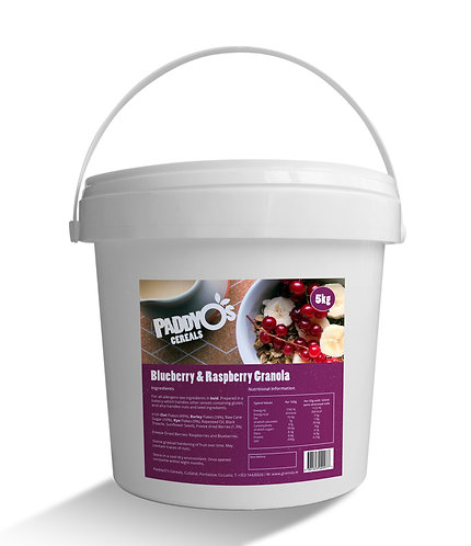 Paddy O's Berry Granola 5kg AEXE5696