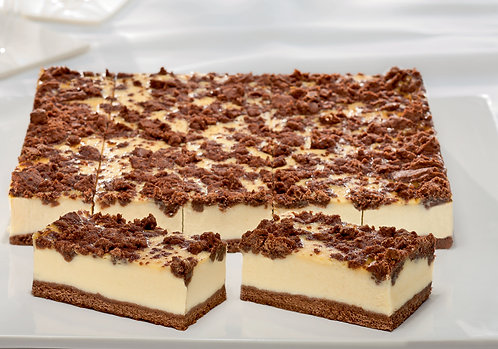 Cheesecake Slice with Chocolate Crumbles FBEL4818