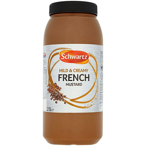 Schwartz French Mustard 2.5kg CEXE4933