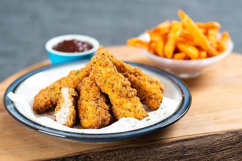 Glenhaven Southern Fried Chicken Goujons 1kg x 5 FGLE3305
